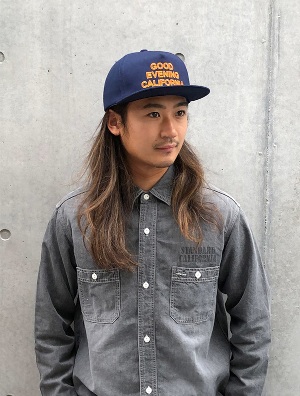 【DELIVERY】 STANDARD CALIFORNIA - Good Evenimg California Twill Cap_a0076701_17204681.jpg