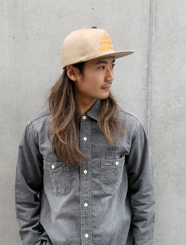 【DELIVERY】 STANDARD CALIFORNIA - Good Evenimg California Twill Cap_a0076701_17205368.jpg