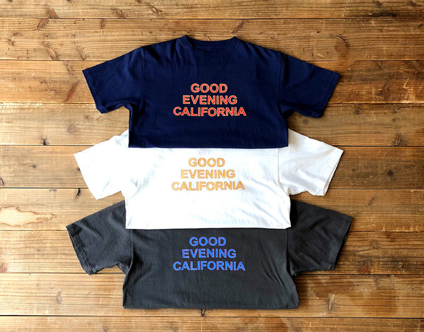 【DELIVERY】 STANDARD CALIFORNIA - Good Evenimg California T_a0076701_17270994.jpg