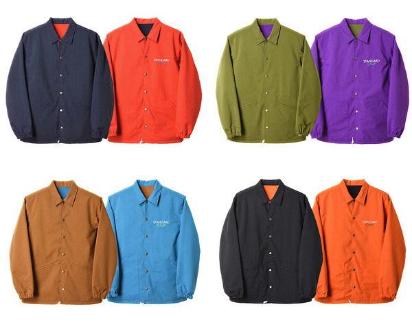 【DELIVERY】 STANDARD CALIFORNIA - Reversible Coach Jacket_a0076701_17461611.jpg
