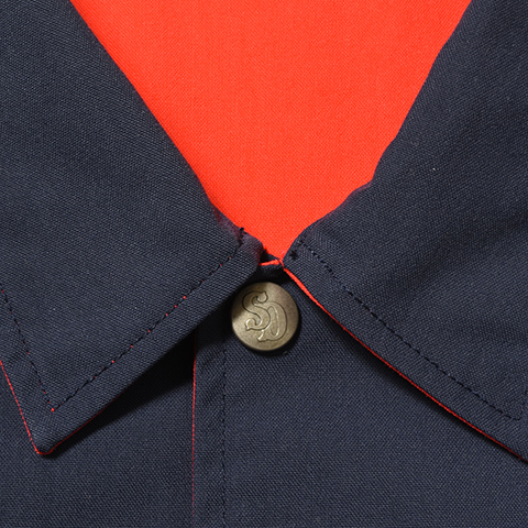 【DELIVERY】 STANDARD CALIFORNIA - Reversible Coach Jacket_a0076701_17465652.jpg