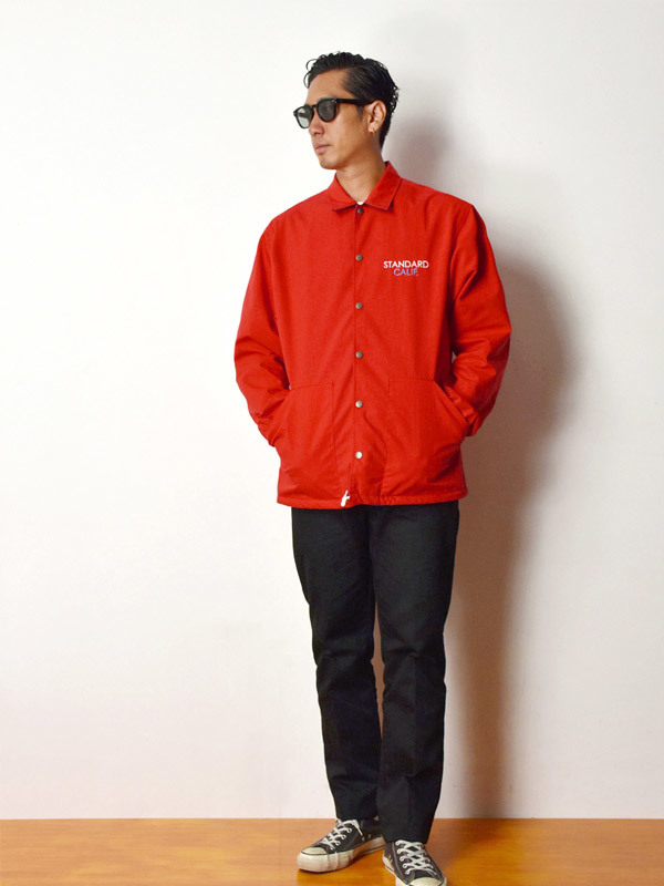 【DELIVERY】 STANDARD CALIFORNIA - Reversible Coach Jacket_a0076701_17474426.jpg