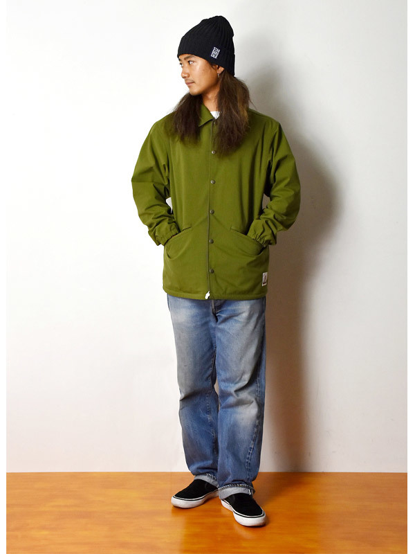 【DELIVERY】 STANDARD CALIFORNIA - Reversible Coach Jacket_a0076701_17524806.jpg