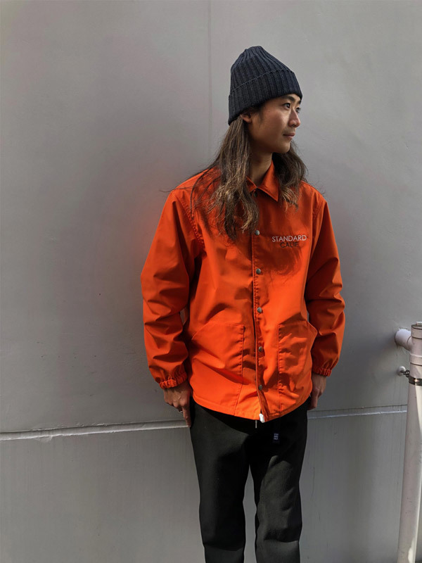 【DELIVERY】 STANDARD CALIFORNIA - Reversible Coach Jacket_a0076701_17530085.jpg