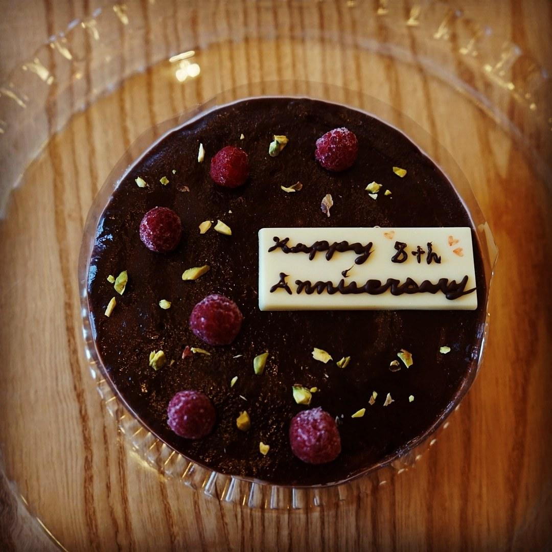 チョコのケーキ _e0226604_20302339.jpg