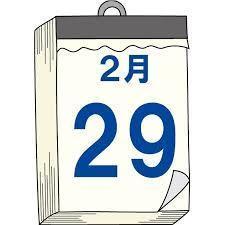 閏日(うるう日)」…2020/2/29 : 徳ちゃん便り