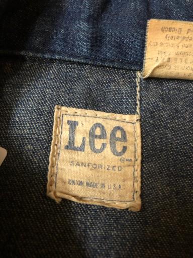 アメリカ仕入れ情報#18 70s Lee 91-B Denim Jacket!_c0144020_14482285.jpg