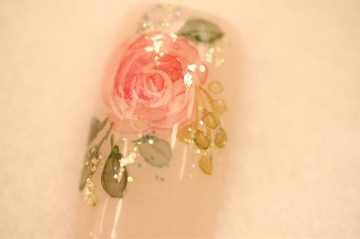 お花のネイルおすすめです🌹_c0071924_23514651.jpg