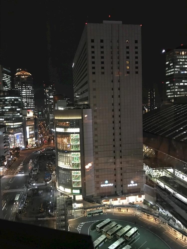 阪急百貨店の夜景_a0364535_19173076.jpg