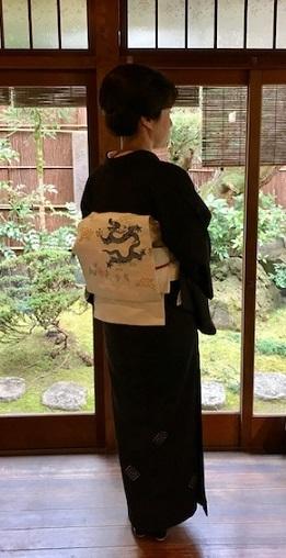 新年会・三枡文の着物に龍の帯・道明帯締のお客様。_f0181251_15033499.jpg