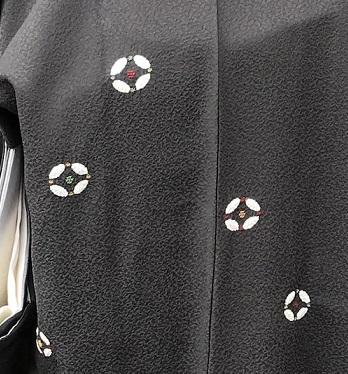 新年会・絞と刺繍羽織・川村久太郎・龍の帯・明日は仕入に_f0181251_16203663.jpg