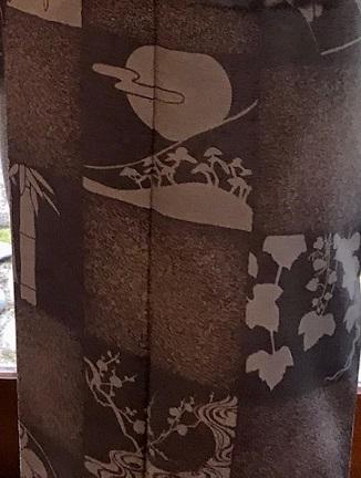 新年会・絞と刺繍羽織・川村久太郎・龍の帯・明日は仕入に_f0181251_16252878.jpg