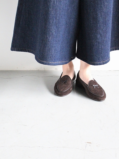 NEEDLES Suede Slip-On With Bow_b0139281_1411142.jpg