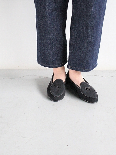 NEEDLES Suede Slip-On With Bow_b0139281_14111963.jpg