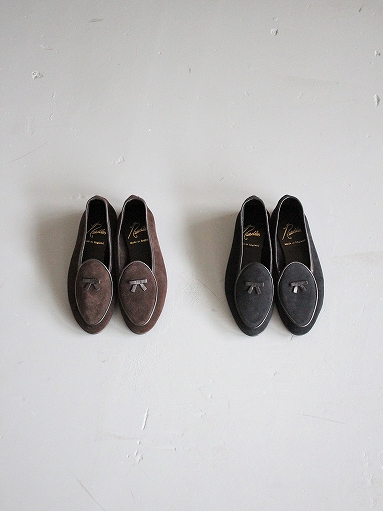 NEEDLES Suede Slip-On With Bow_b0139281_1411250.jpg