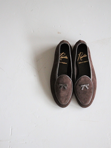 NEEDLES Suede Slip-On With Bow_b0139281_14152656.jpg