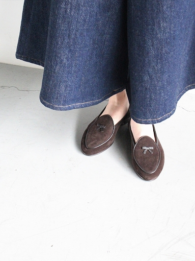 NEEDLES Suede Slip-On With Bow_b0139281_141529.jpg