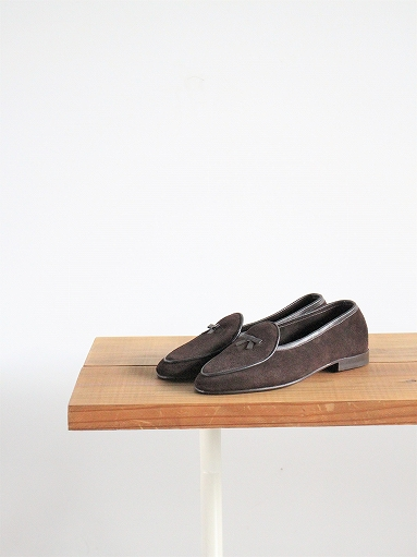 NEEDLES Suede Slip-On With Bow_b0139281_14153156.jpg