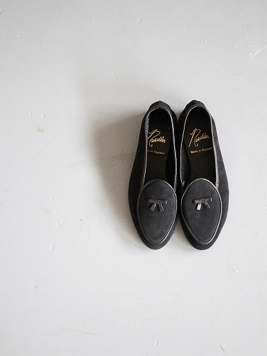 NEEDLES Suede Slip-On With Bow_b0139281_14153973.jpg