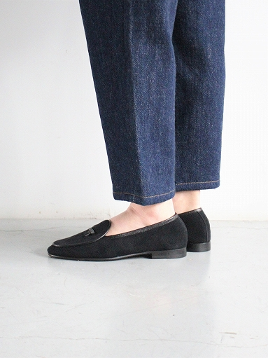 NEEDLES Suede Slip-On With Bow_b0139281_1415817.jpg