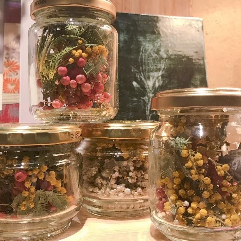 こぼれ花やこぼれ実を・・・「拾っては瓶に集めていたら!」編_e0359584_00390372.jpg
