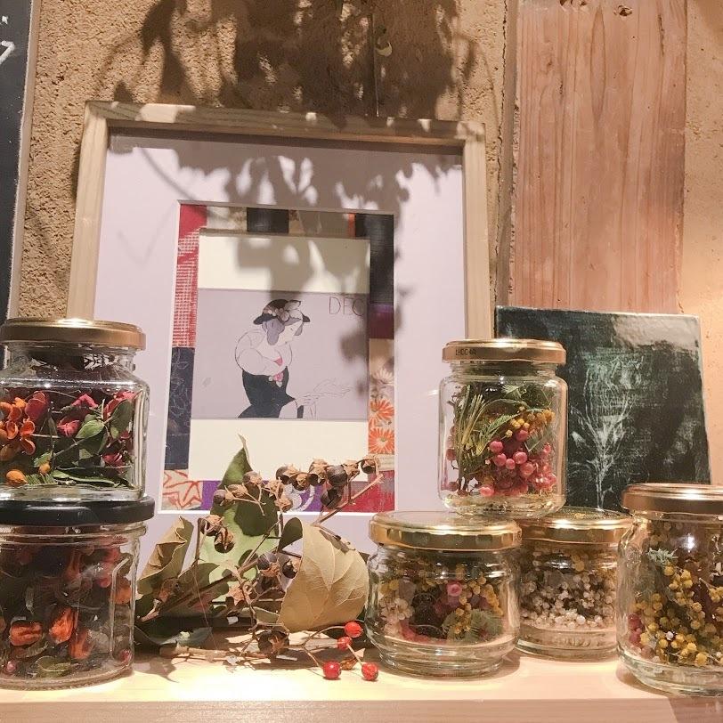 こぼれ花やこぼれ実を・・・「拾っては瓶に集めていたら!」編_e0359584_00390376.jpg