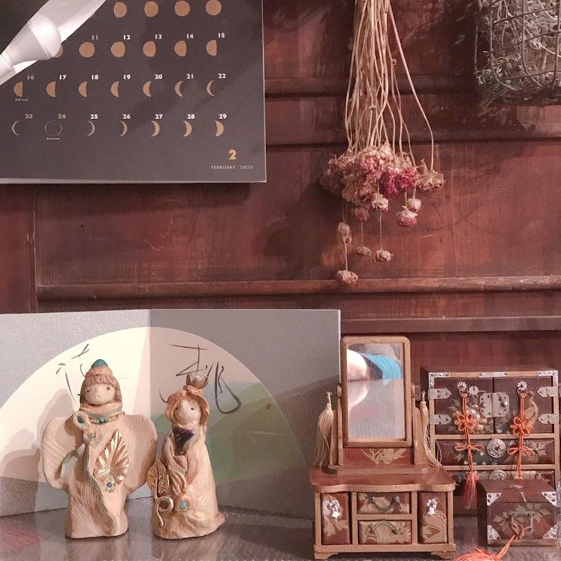 ささやかな・・・お雛祭り「毎年、素敵に登場のあけみさん雛!!」編。_e0359584_00421458.jpg