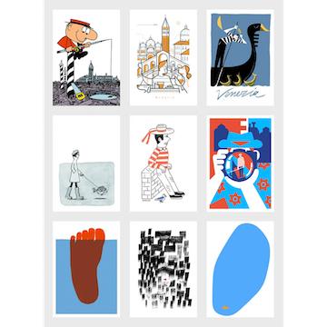 アートで工房を応援しよう!ヴェネツィア、ファッラーニ工房と9人のアーチストたち_c0339296_23023498.jpg