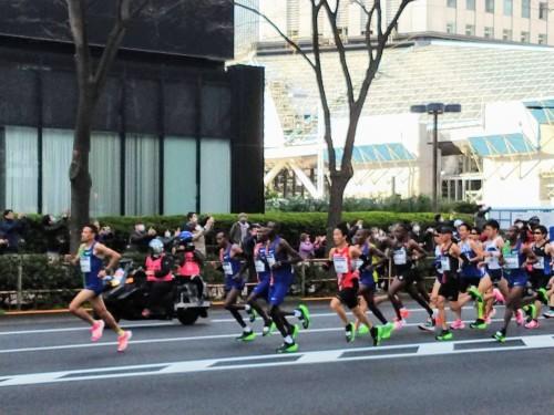 今年の東京マラソン_a0057402_09480381.jpg