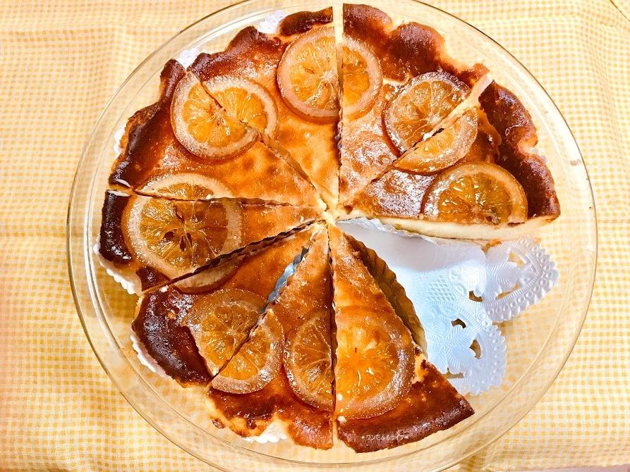 * レモンチーズケーキ&羽根つきギョウザ *_d0317115_20021727.jpg
