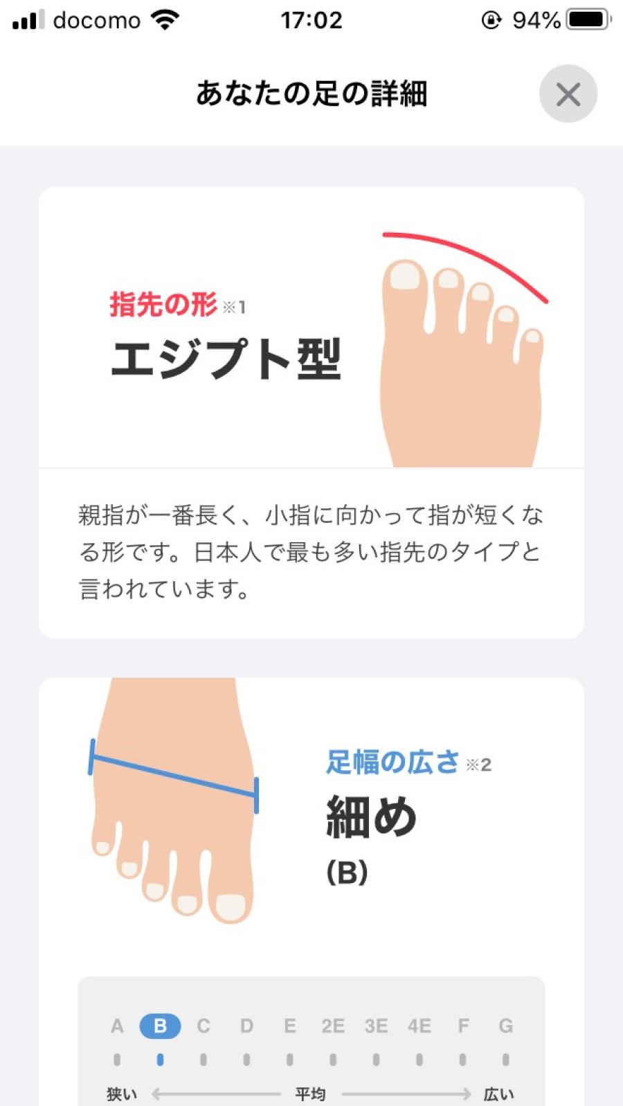 話題の『ZOZOMAT』 VS 『荒井弘史』 靴作りのプロとハイテクの対決!_f0283816_17081972.png