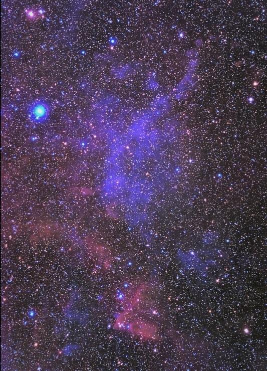 リゲルを巡る星雲群の再処理_e0344621_17233771.jpg
