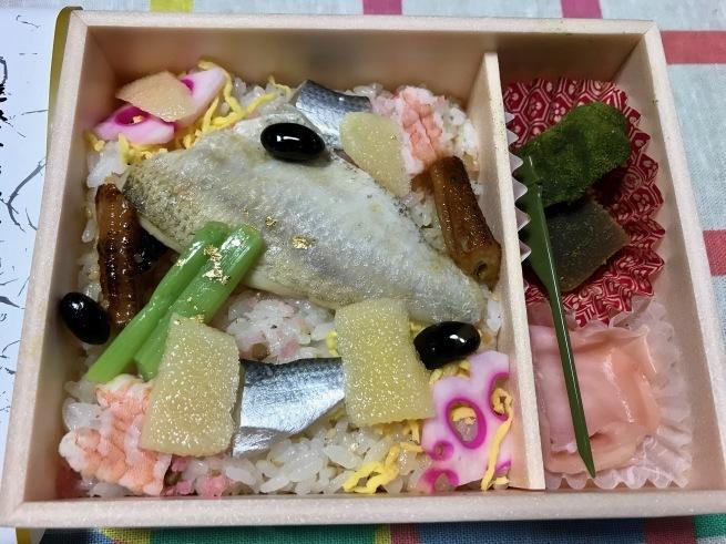 加賀屋監修の空弁。──「のどぐろちらし寿司」_d0352022_18180806.jpg