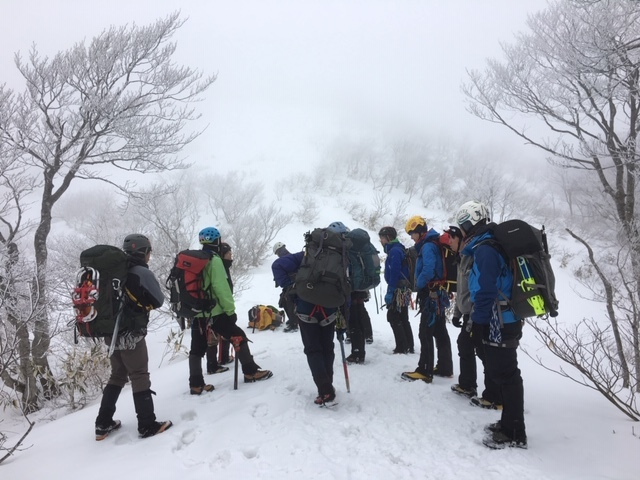愛知山岳連盟 雪上技術検定_a0067744_18341162.jpg