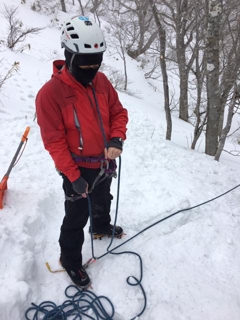 愛知山岳連盟 雪上技術検定_a0067744_18341863.jpg