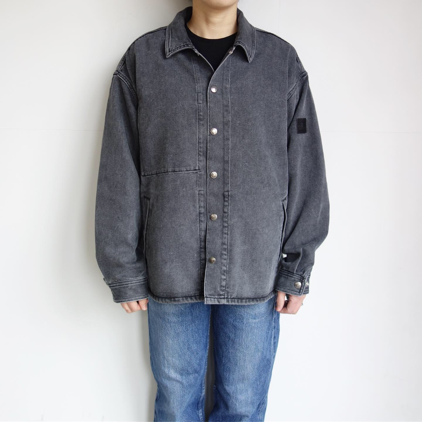 THE NORTH FACE PURPLE LABEL : Denim Field Jacket_a0234452_14381790.jpg