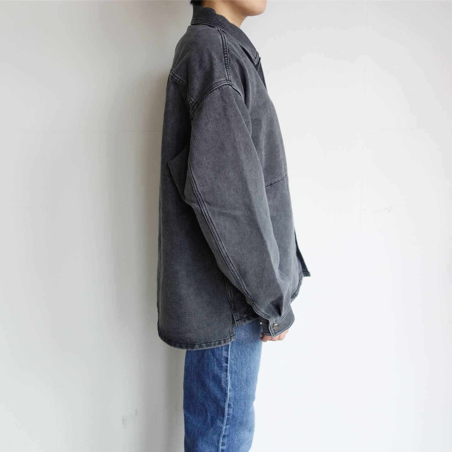 THE NORTH FACE PURPLE LABEL : Denim Field Jacket_a0234452_14382636.jpg
