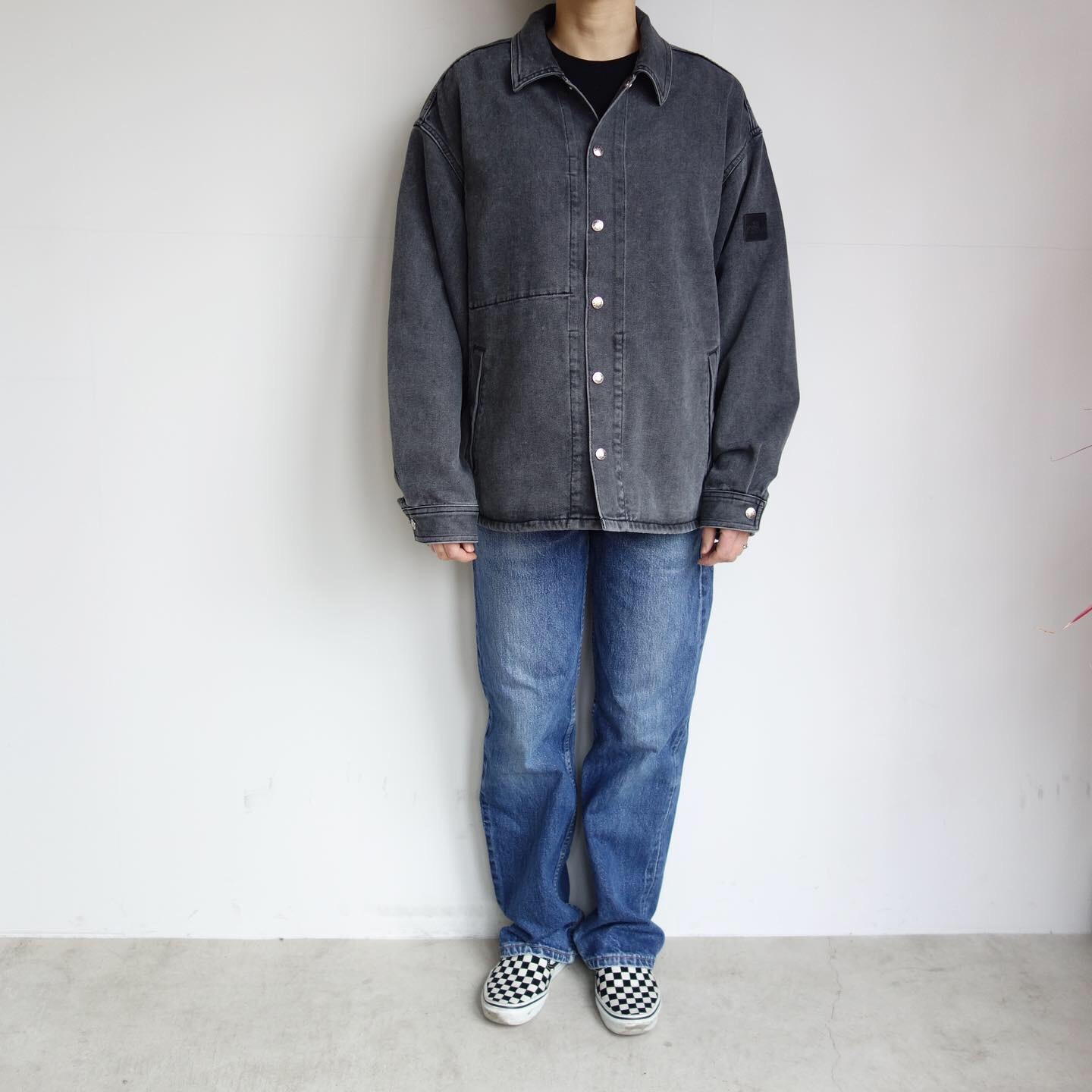 THE NORTH FACE PURPLE LABEL : Denim Field Jacket_a0234452_14382907.jpg