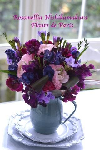 2月パリのお花屋さんレッスン_d0078355_13402324.jpg