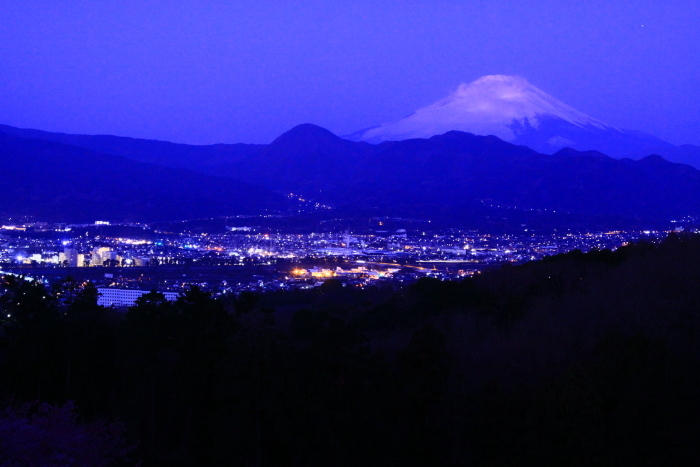 令和2年2月の富士 (22) おおいゆめの里の夜明けの富士_e0344396_12350554.jpg