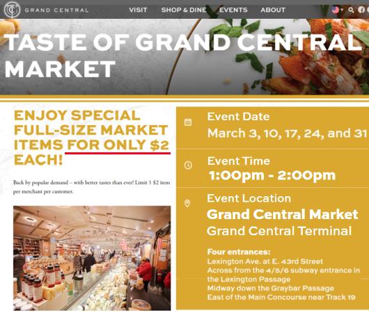 帰ってきた『グラセン・マーケットの2ドル食』(Taste of Grand Central Market)!!_b0007805_08192984.jpg