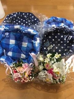 ミッキーへお花が届きました。_d0171907_12011047.jpg