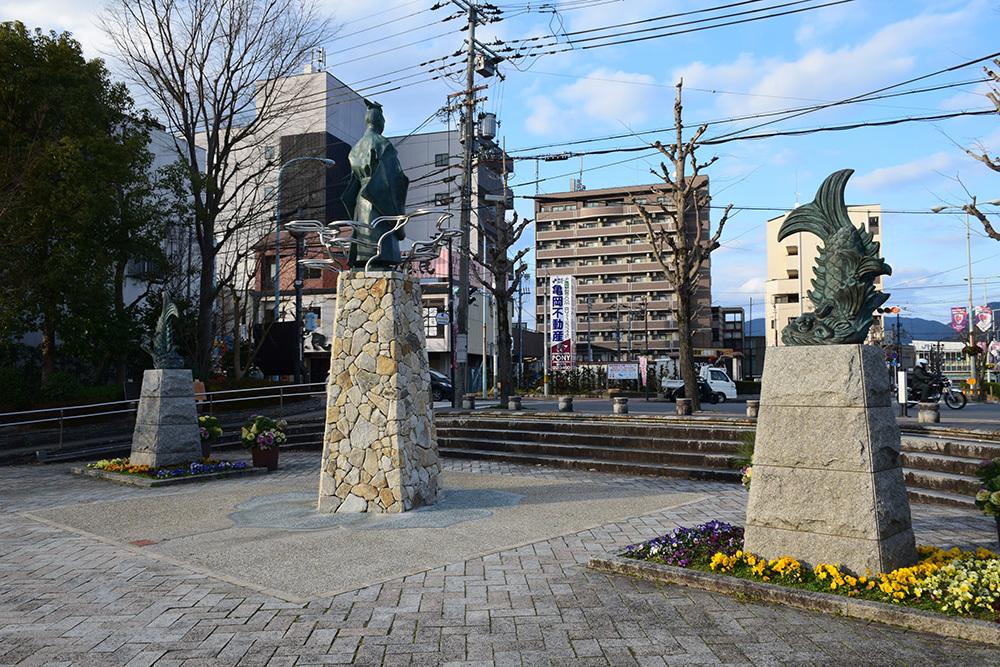 丹波亀山城を歩く。 その2 <南郷公園>_e0158128_20210824.jpg
