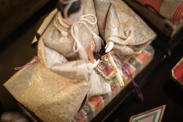 昭和の和製レンズが見た雛人形_f0265234_21594846.jpg