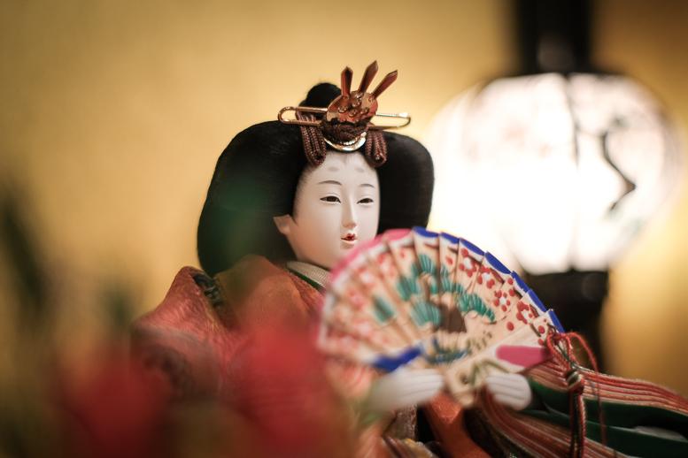 昭和の和製レンズが見た雛人形_f0265234_22001437.jpg