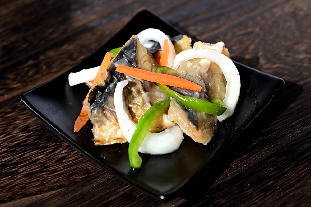 メシ通『魚介を使った簡単レシピ 』☆ 超時短!文化さばで鯖の竜田揚げ_d0069838_07545980.jpg