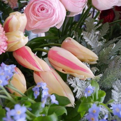 オークリーフ(今日のお店の花。明日の営業につきまして。)_f0049672_18230130.jpg