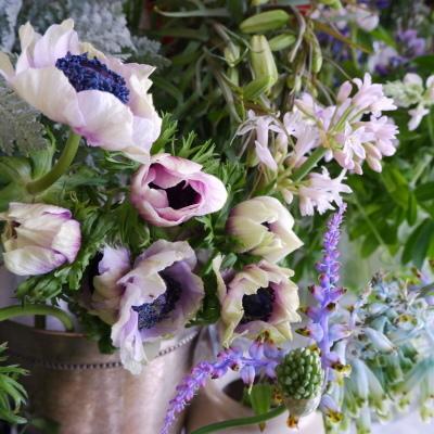 オークリーフ(今日のお店の花。明日の営業につきまして。)_f0049672_18230817.jpg
