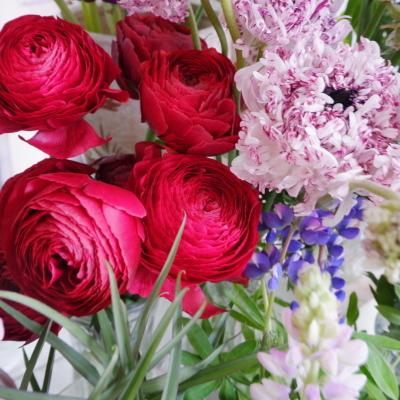 オークリーフ(今日のお店の花。明日の営業につきまして。)_f0049672_18231569.jpg