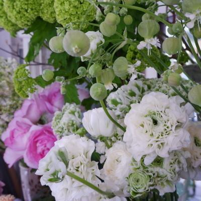 オークリーフ(今日のお店の花。明日の営業につきまして。)_f0049672_18233424.jpg
